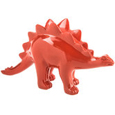 Red Stegosaurus